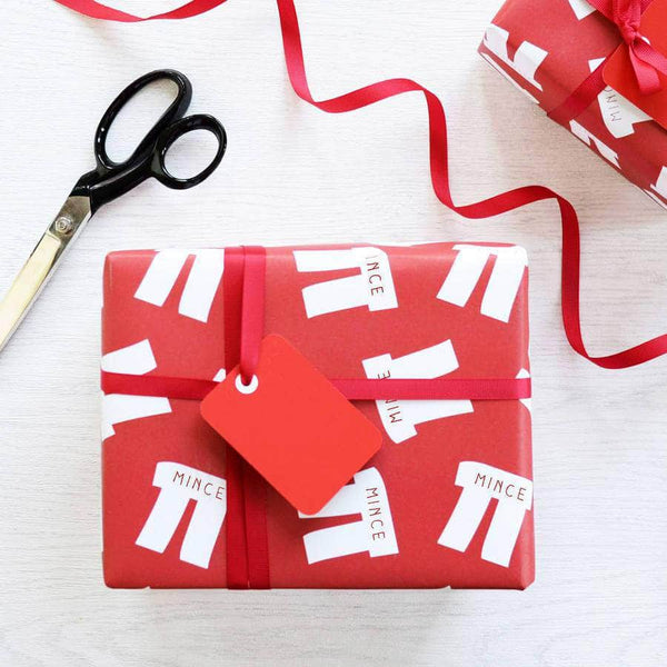 Christmas Mince Pi Gift Wrap Set - Newton and Apple