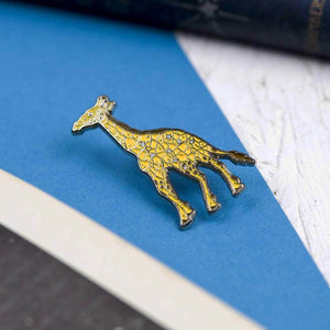 Enamel Pin Giraffe Star Constellation - Newton and Apple