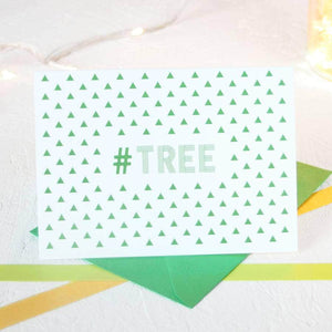 Christmas Hashtag Cards Full Set (Pack of 5) - Newton and Apple