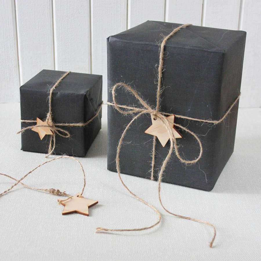 Chalkboard Giftwrap Wrapping Paper Set - Newton and Apple