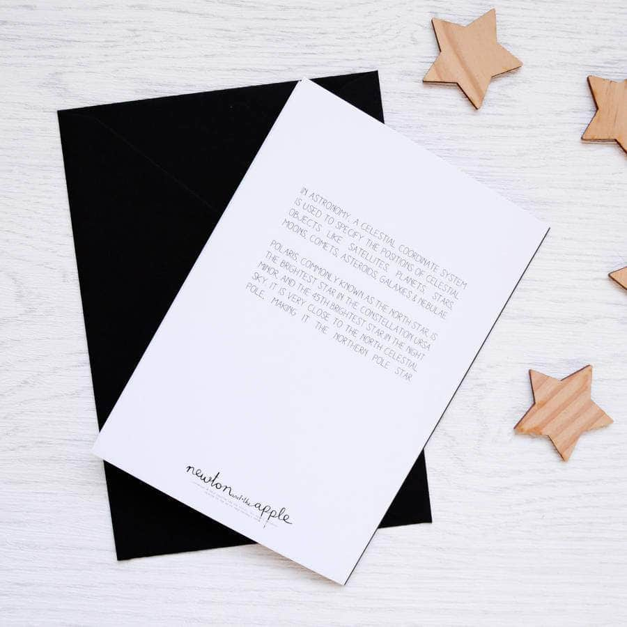 Polaris North Star Scientific Christmas Card Packs - Newton and Apple