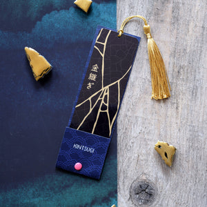 Kintsugi Metal Bookmark