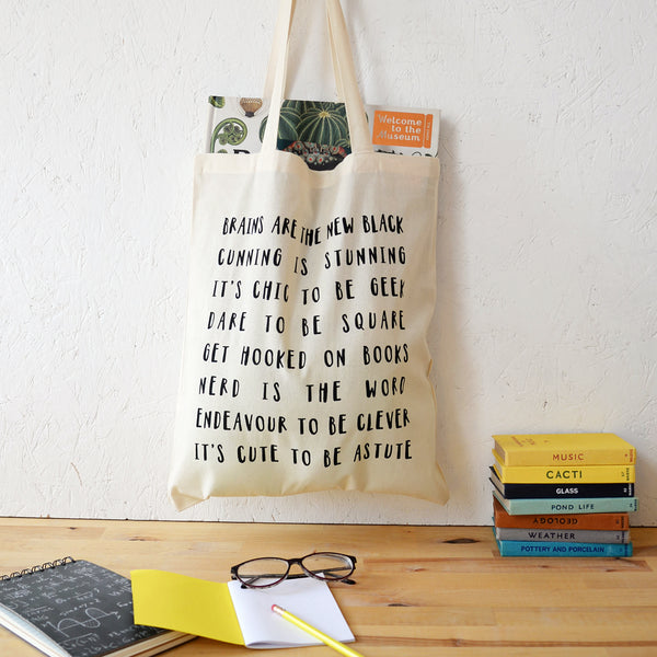 Clever Tote Bag in Natural - Newton and Apple