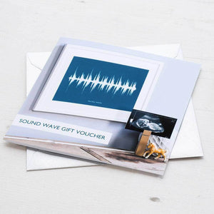 Gift Voucher For Personalised Sound Wave Print - Newton and Apple