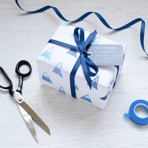 Blue Mountains Watercolour Wrapping Paper Set - Newton and Apple