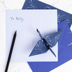 'Stariami' Origami Letter Writing Set - Newton and Apple