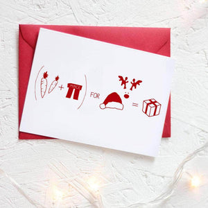 Christmas Formula For Presents Card Packs - Newton and Apple