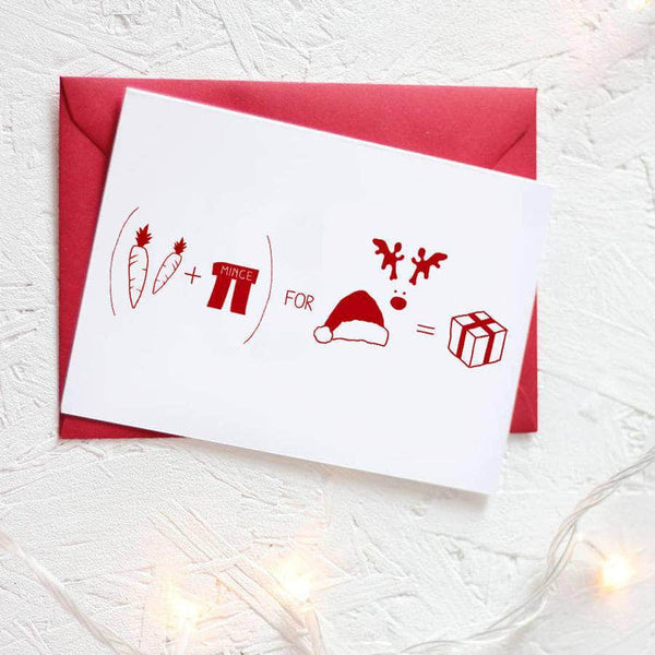 Christmas Formula For Presents Card Packs