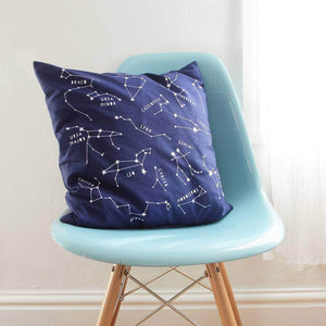 Night Sky Constellations Cushion Cover - Newton and Apple