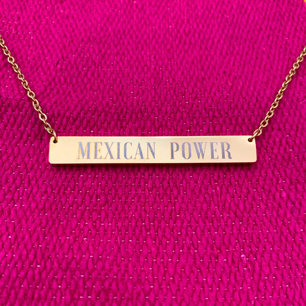 Buy online High Quality Mexican Power Necklace - Mr. Huey Shop
