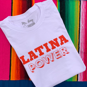 Buy online High Quality Latina Power T-Shirt - Mr. Huey Shop