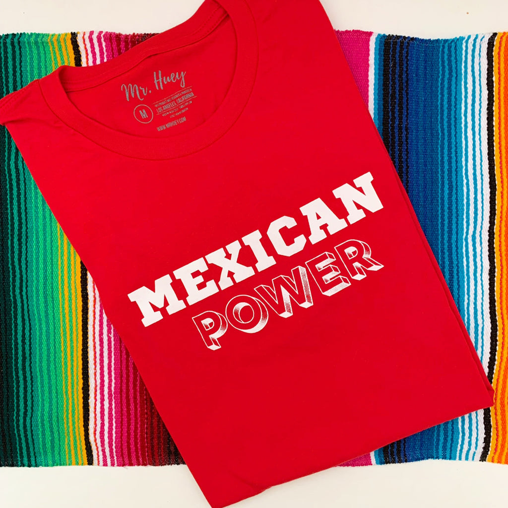Buy online High Quality Mexican Power T-Shirt (Unisex) - Mr. Huey Shop