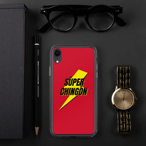 Buy online High Quality Súper Chingón Red iPhone Case - Mr. Huey Shop
