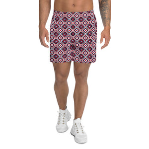 Buy online High Quality Pattern Men's Athletic Long Shorts - Mr. Huey Shop