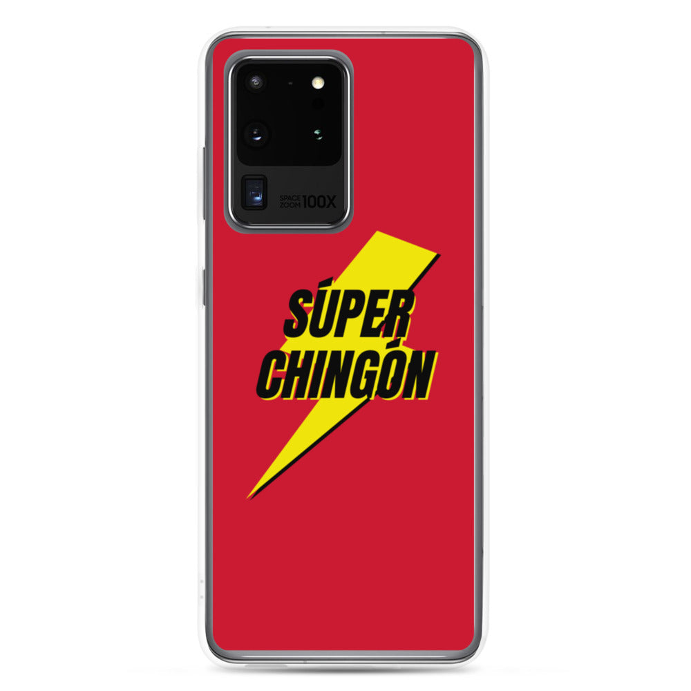 Buy online High Quality Súper Chingón Red Samsung Case - Mr. Huey Shop