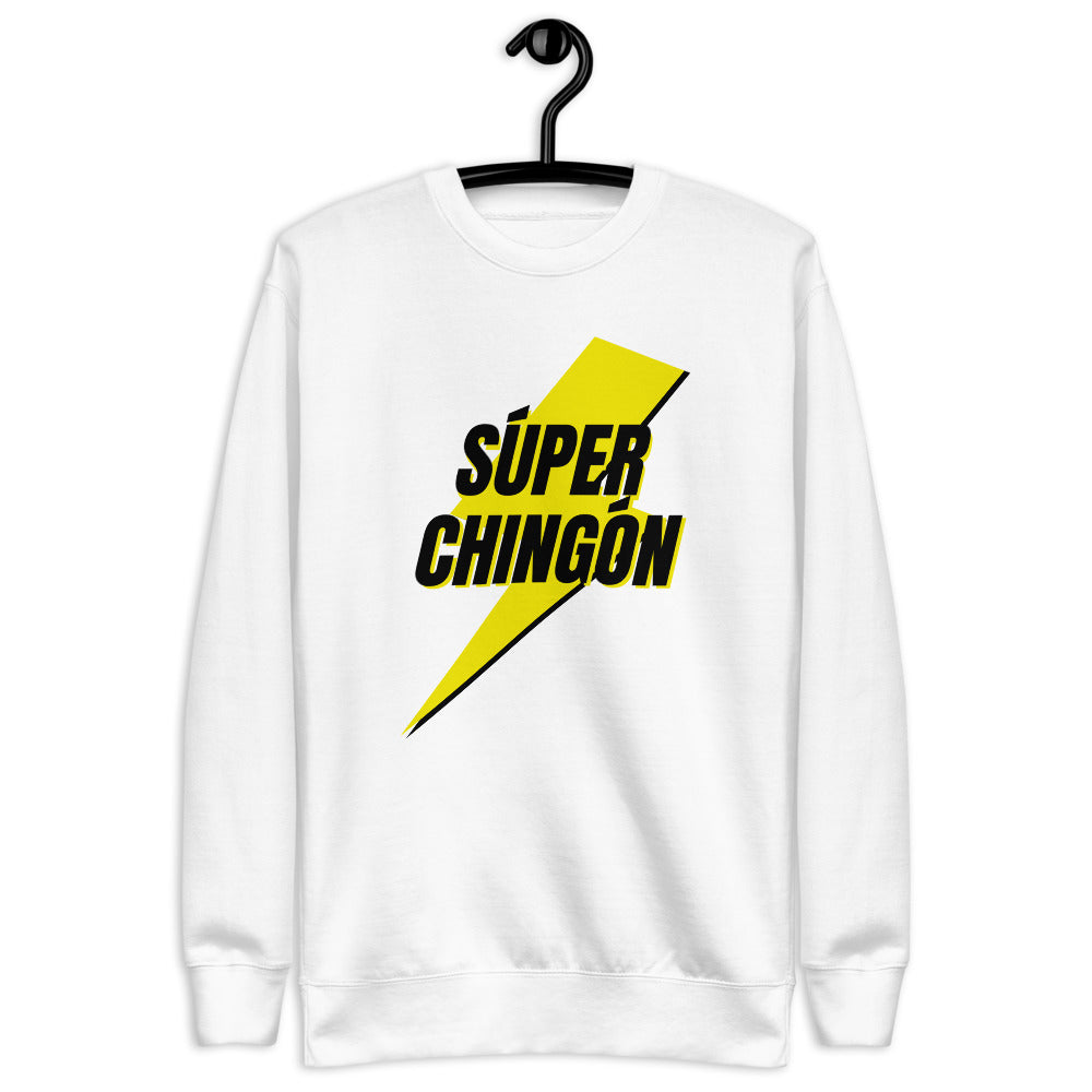 Buy online High Quality Súper Chingón Fleece Pullover - Mr. Huey Shop