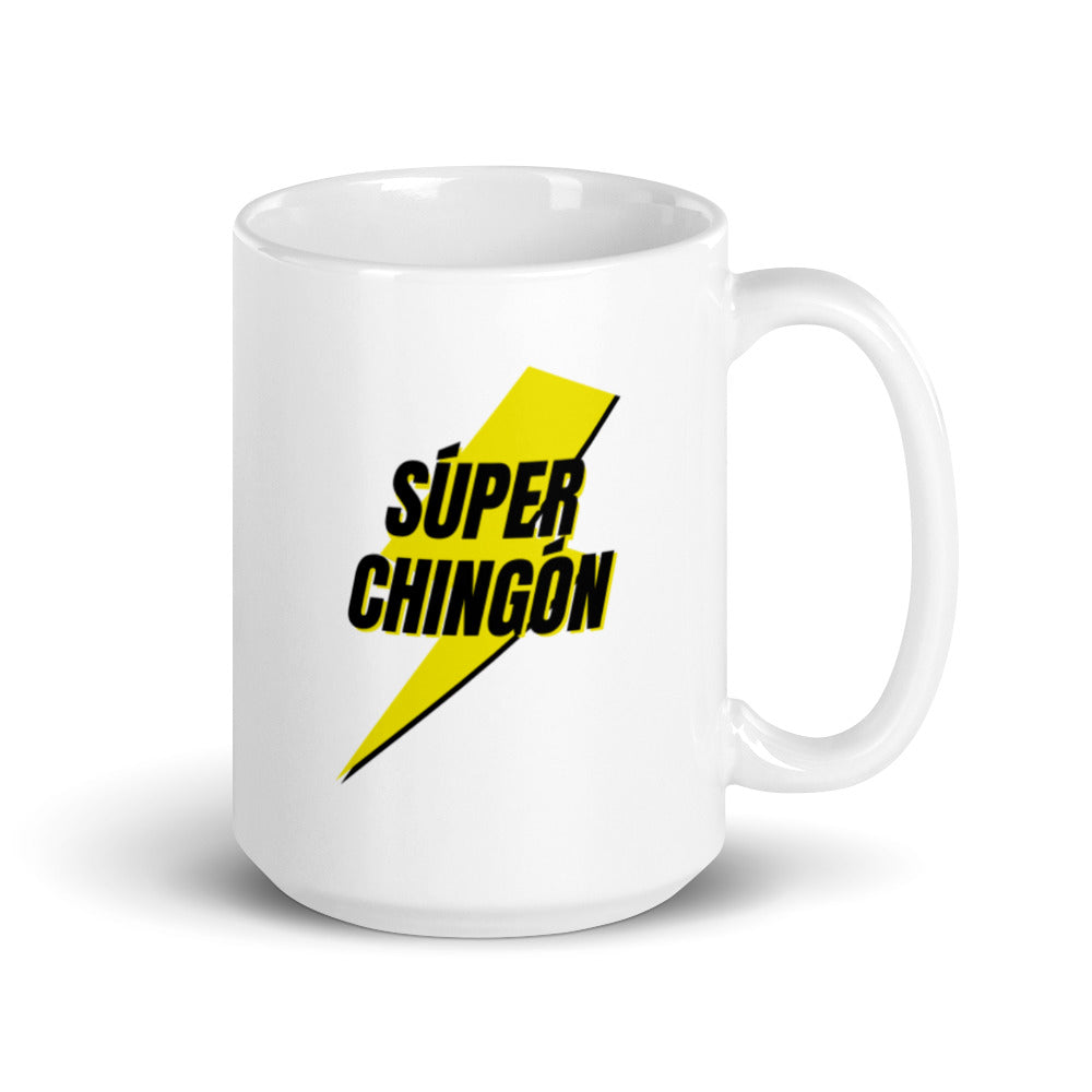 Buy online High Quality Súper Chingón Mug - Mr. Huey Shop