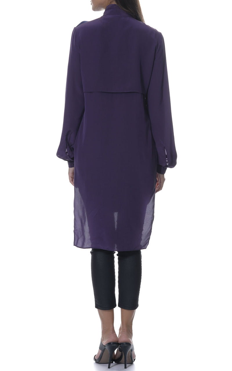 Mara Silk Shirt Dress