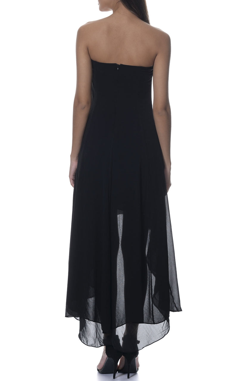 Sally Evening Silk Maxi Dress