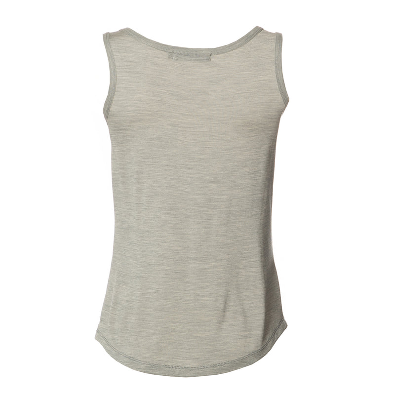 Louisa Basic Summer Tank Top Grey