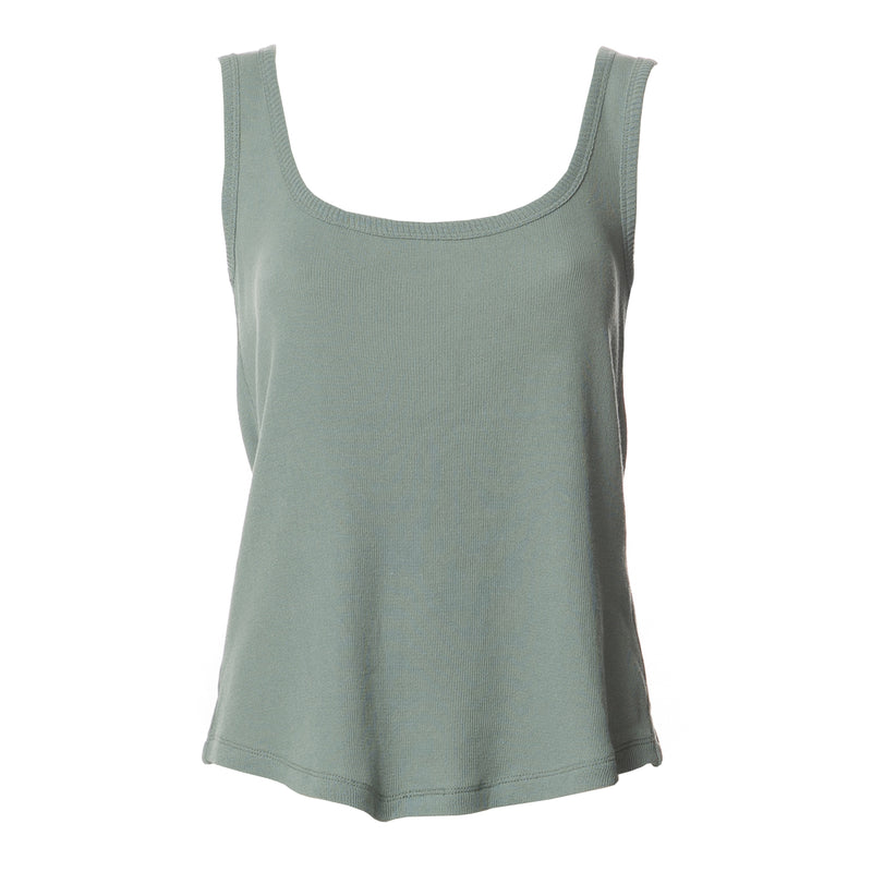 Louisa Basic Summer Tank Top Pastel