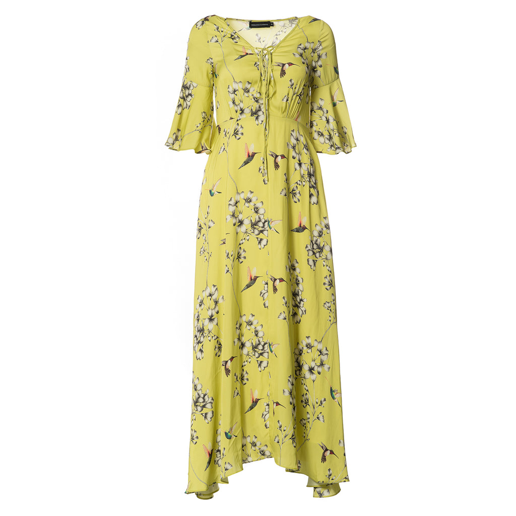 Isabella Hummingbird Maxi Dress