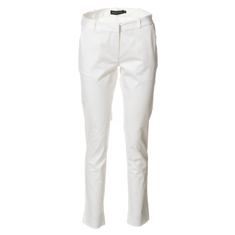 Cici Straight Leg Pants White