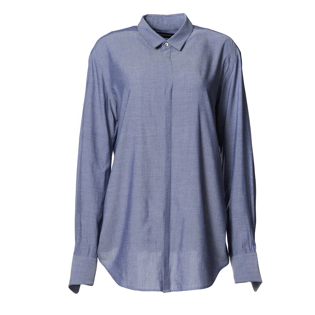 Stella Weekend Shirt Blue Linen
