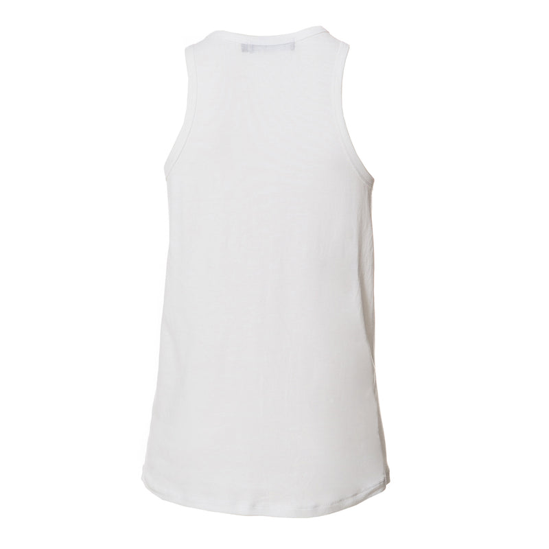 Louisa Basic Summer Tank Top White