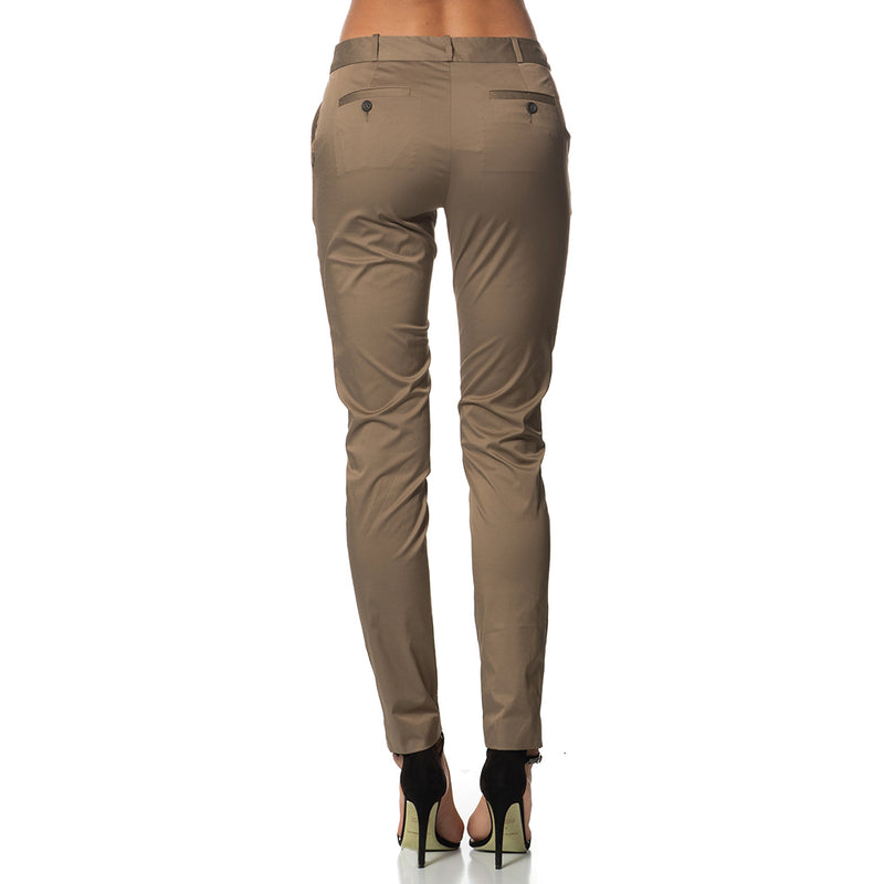 Cici Straight Leg Pants Olive