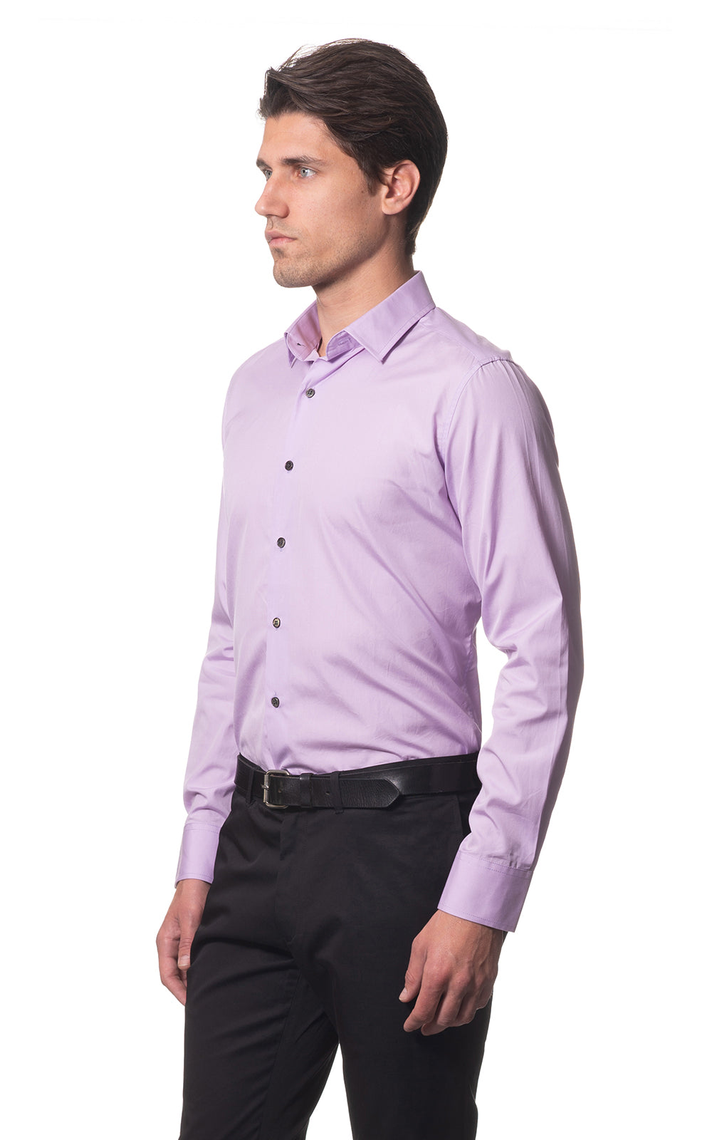 Sam classic everyday cotton shirt - Lavender