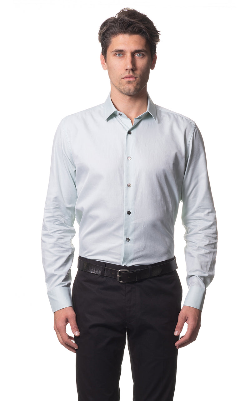 Sam classic everyday cotton shirt - Mint