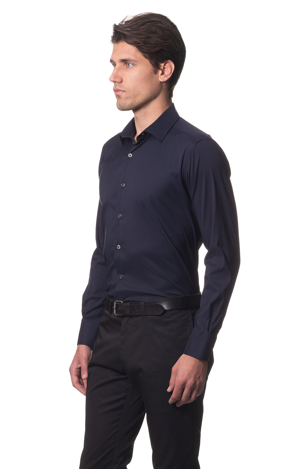 Sam classic everyday cotton shirt - Navy