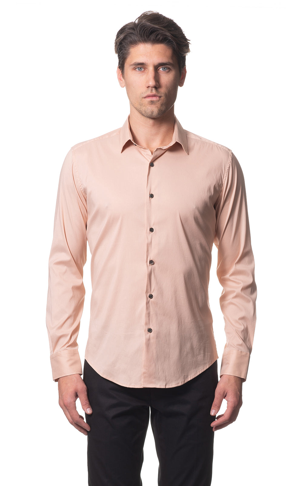 Sam classic everyday cotton shirt - Peach