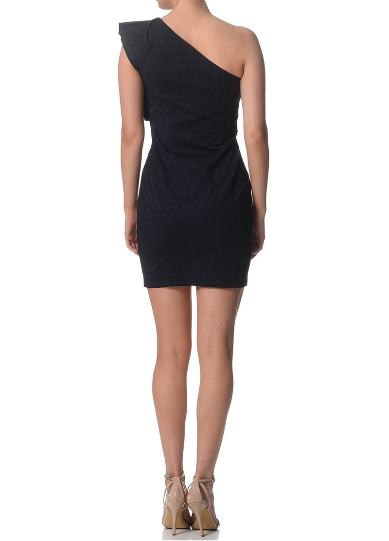 Natalie one-shoulder bodycon dress