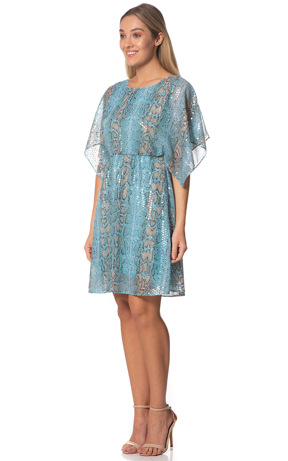Sequined Cobra Tunic Dress