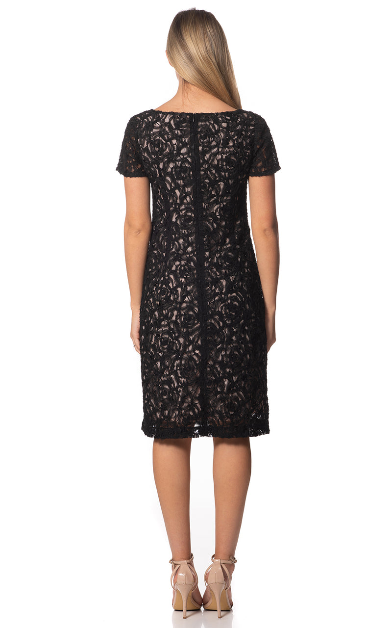 Sally Short Sleeve Lace Dress