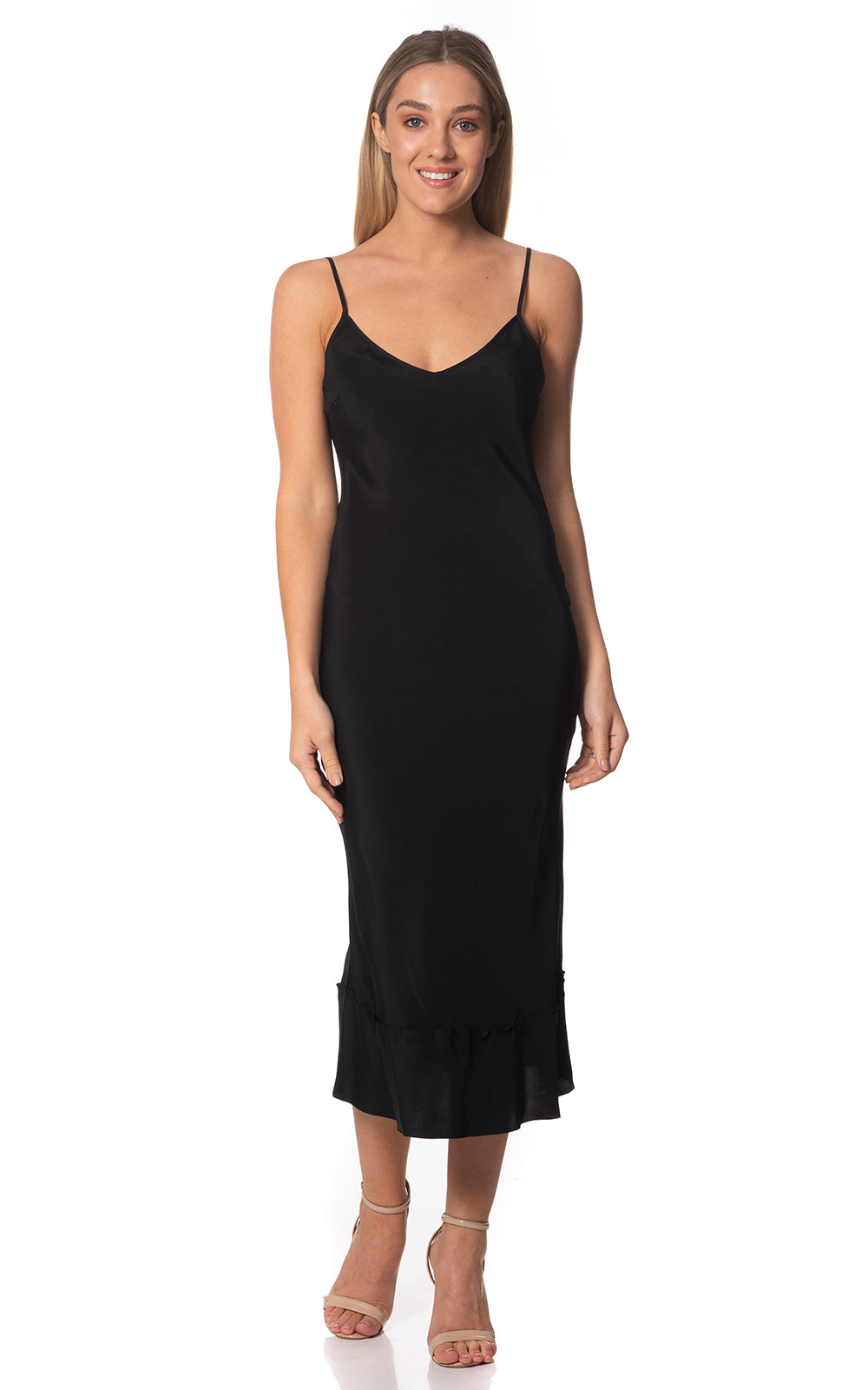 Nicola Maxi Slip Silk Dress