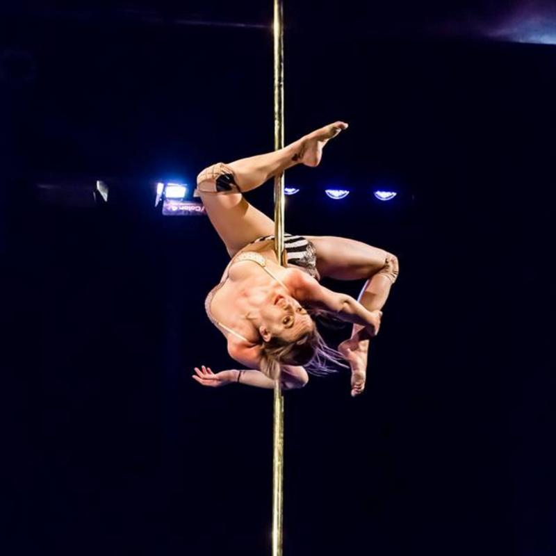 Pole dance performance picture