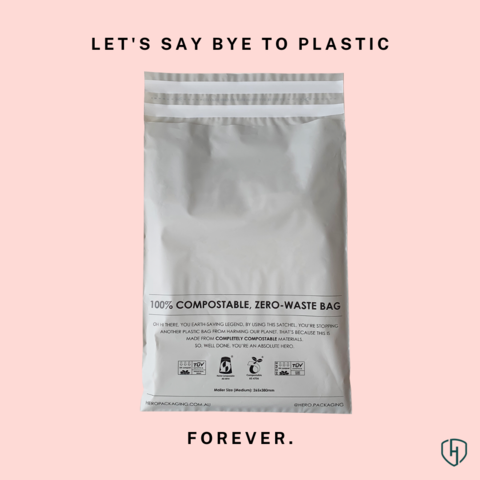 Hero Compostable Mailers