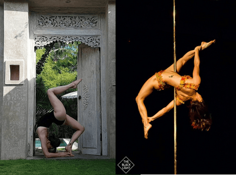 Pole dancing flexibility pictures