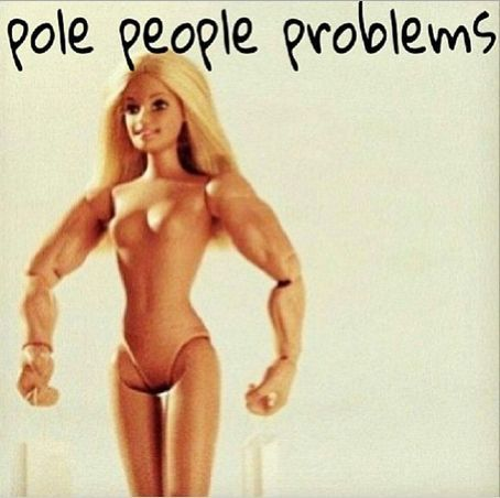 Pole dancing meme pole dancer barbie
