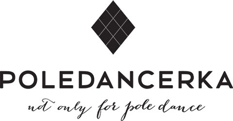 Poledancerka pole dance clothing brand logo