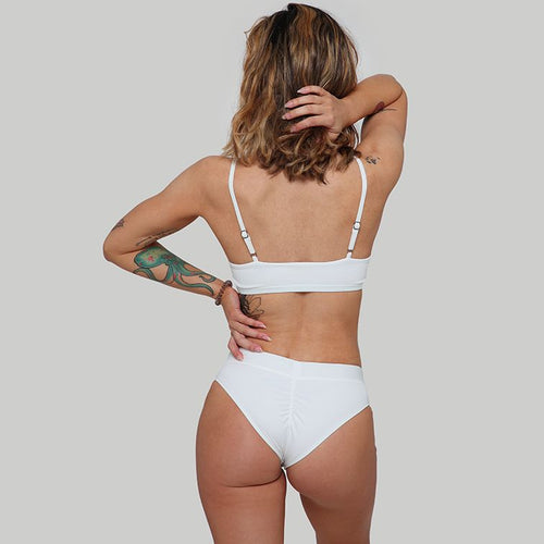 Creatures of XIX Hills Raree pole dance set white back view