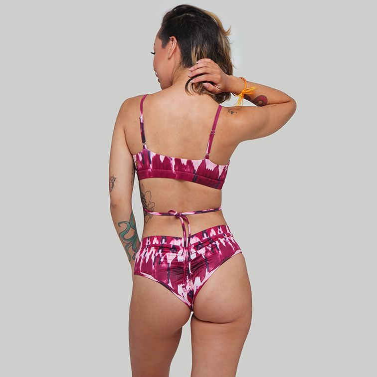 Creatures of XIX pole aerial dance wear Cheeky short bad love back view