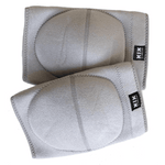 Creatures of XIX pole dance knee pads grey front view 2
