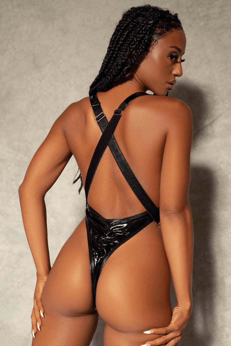 Creatures of XIX Infinity Bodysuit pole dance aerial back view