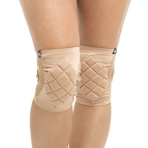 Poledancerka pole dance knee pads, invisible, front view