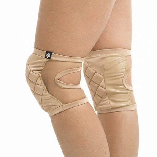 Poledancerka pole dance knee pads, invisible, side view