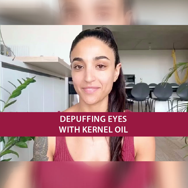 Face Yoga: Depuffing Eyes With kernel oil by Tracy Assaad